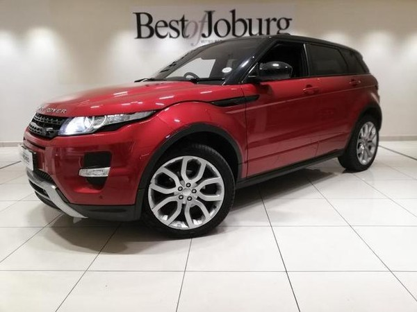 2015 Land Rover Evoque 2.2 Sd4 Dynamic  Gauteng Rivonia_0