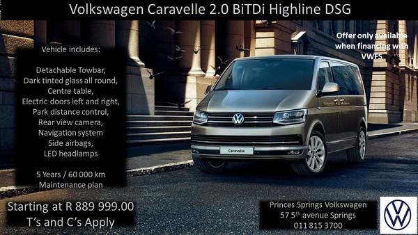2019 Volkswagen Caravelle 2.0 BiTDi Highline DSG Gauteng Springs_0