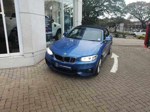 2015 BMW 2 Series 220i Convertible M Sport Auto F23 Mpumalanga Barberton_0