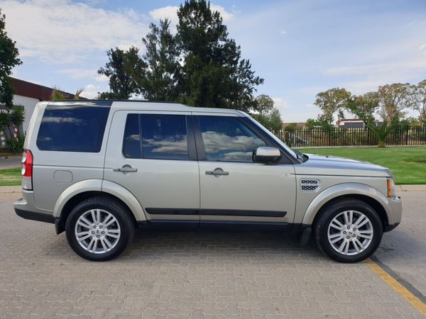2011 Land Rover Discovery 4 3.0 Tdv6 Hse  Gauteng Vanderbijlpark_0