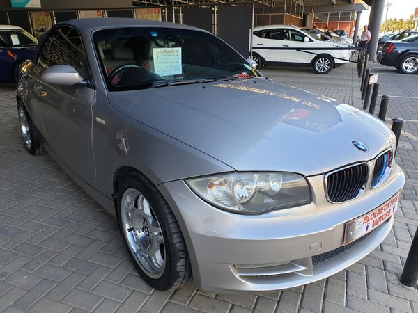 2009 BMW 1 Series 120i Convertible At  Free State Bloemfontein_0