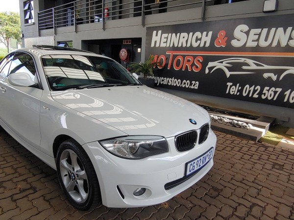 2013 BMW 1 Series 120d Coupe At  Gauteng Pretoria_0