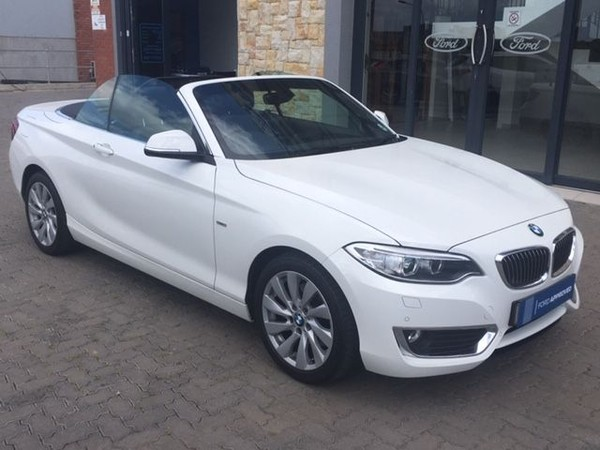 2015 BMW 2 Series 220i Convertible Luxury Line Auto F23 Western Cape Mossel Bay_0