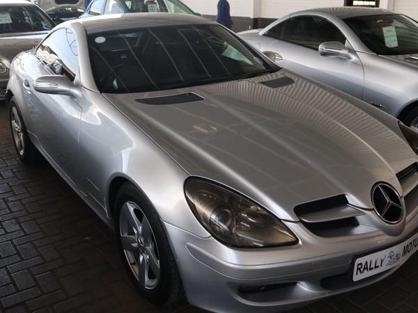 2005 Mercedes-Benz SLK-Class Slk 200 Kompressor  Free State Bloemfontein_0