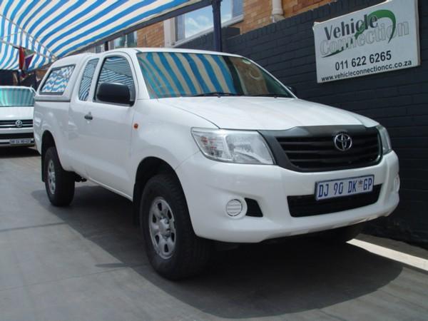 2014 Toyota Hilux 2.5 D-4D RB SRX PU XTRA CAB Gauteng Johannesburg_0