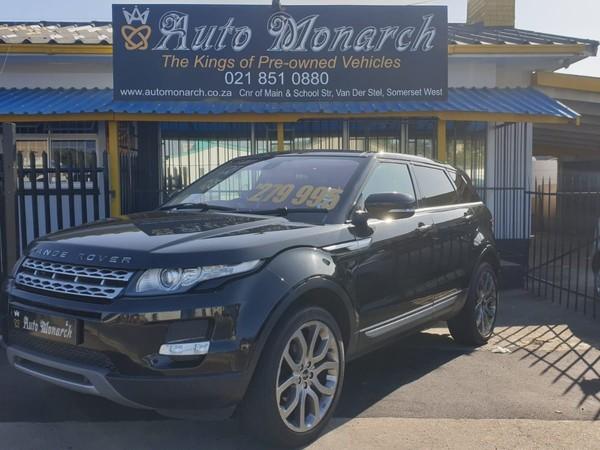 2012 Land Rover Evoque 2.0 Si4 Prestige  Western Cape Somerset West_0