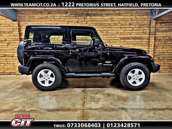 2012 Jeep Wrangler Sahara 3.6l V6 At 2dr  Gauteng Pretoria_0