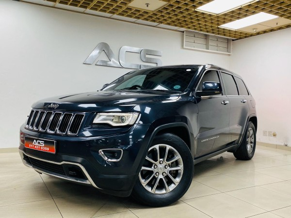 2015 Jeep Grand Cherokee 3.6 LIMITED FACELIFT AUTO 58000KMS FULLY LOADED Gauteng Benoni_0