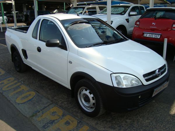 2008 Opel Corsa Utility 1.4i Club Pu Sc  Gauteng Pretoria_0