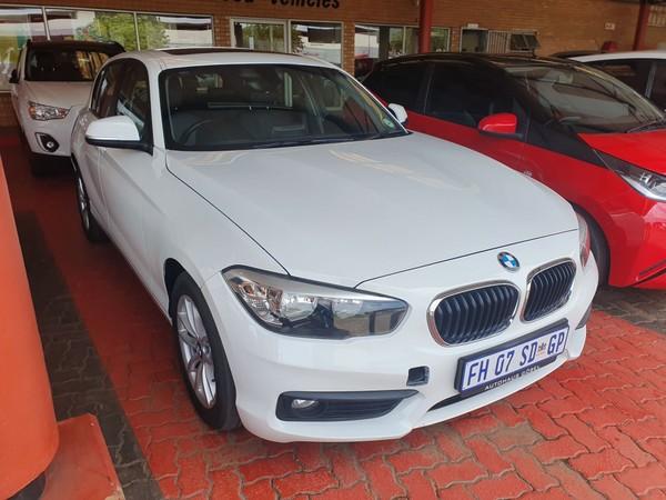 2016 BMW 1 Series 120i 5DR f20 Gauteng Pretoria_0