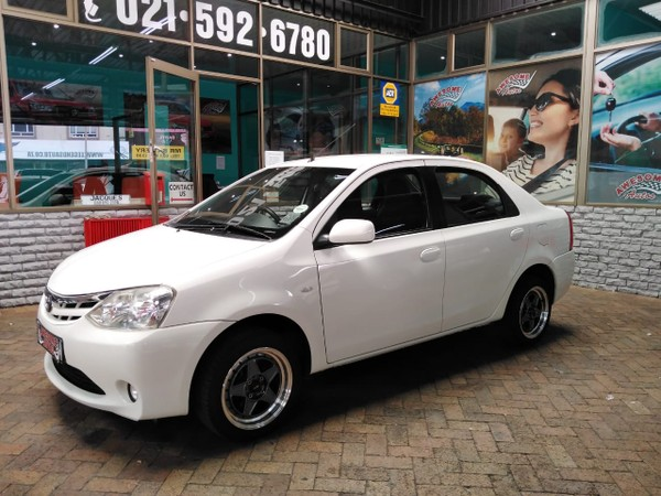 2013 Toyota Etios 1.5 Xs  Western Cape Goodwood_0