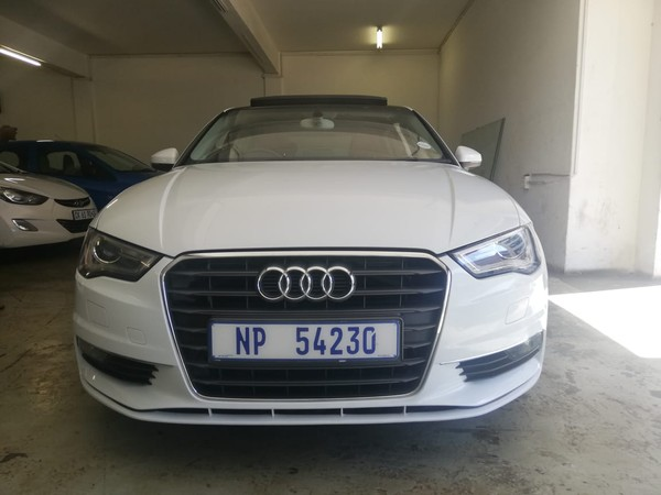 2015 Audi A3 1.4 Tfsi Sportback Attraction  Gauteng Johannesburg_0