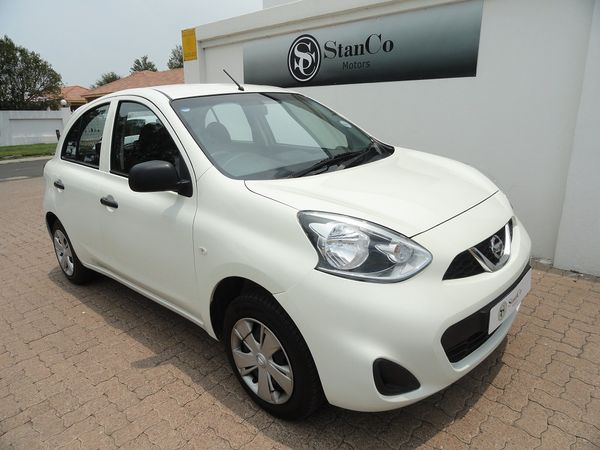 2018 Nissan Micra 1.2 Active Visia Mpumalanga Standerton_0