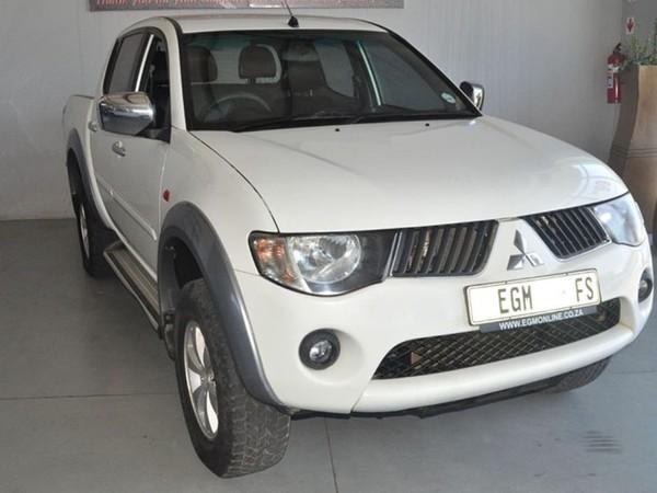 2011 Mitsubishi Triton 2.4 Mpi Abs Pu Dc  Free State Bloemfontein_0
