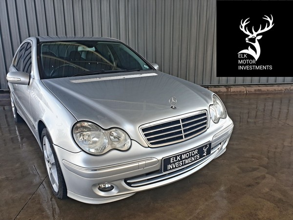 2007 Mercedes-Benz C-Class C350 Avantgarde At  Mpumalanga Middelburg_0