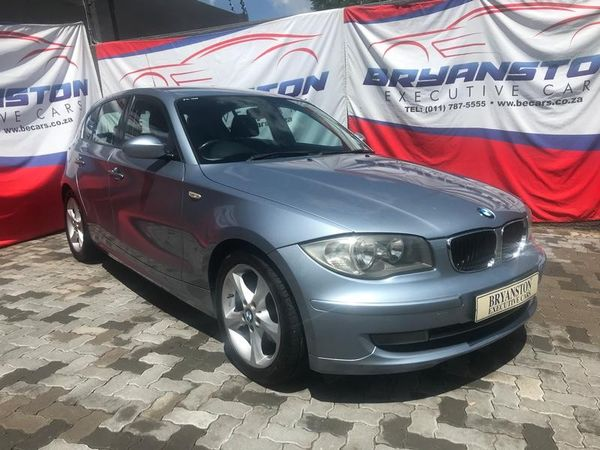 2008 BMW 1 Series 120i Exclusive e87  Gauteng Bryanston_0