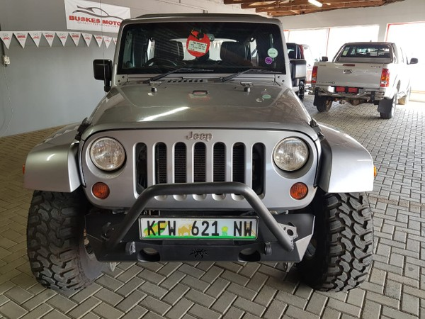 2013 Jeep Wrangler Unlimited 3.6l V6 At  North West Province Hartbeespoort_0