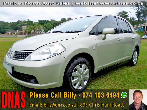 2012 Nissan Tiida 1.6 Visia  AT Sedan Kwazulu Natal Durban North_0