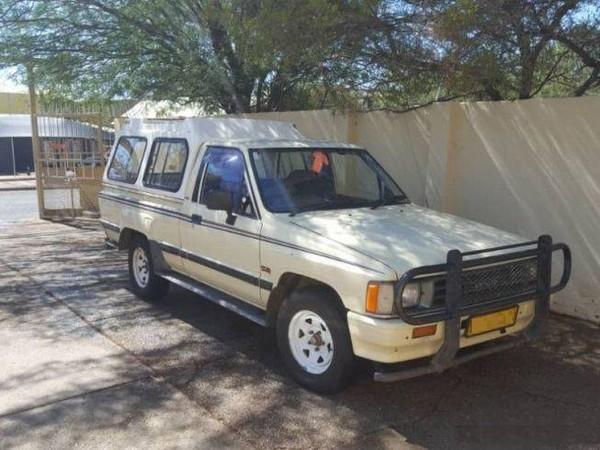 1991 Toyota Hilux 1800 col. Shift Pu Sc  Gauteng Johannesburg_0