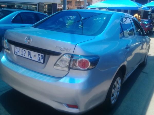 2014 Toyota Corolla Quest 1.6 Gauteng Johannesburg_0