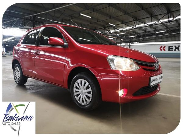 2013 Toyota Etios 1.5 Xs 5dr  Gauteng Karenpark_0