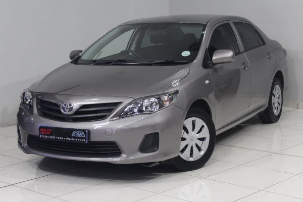 2018 Toyota Corolla Quest 1.6 Manual  Gauteng Nigel_0