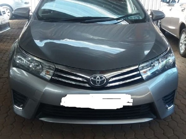 2016 Toyota Corolla 1.6 Advanced At  Gauteng Jeppestown_0