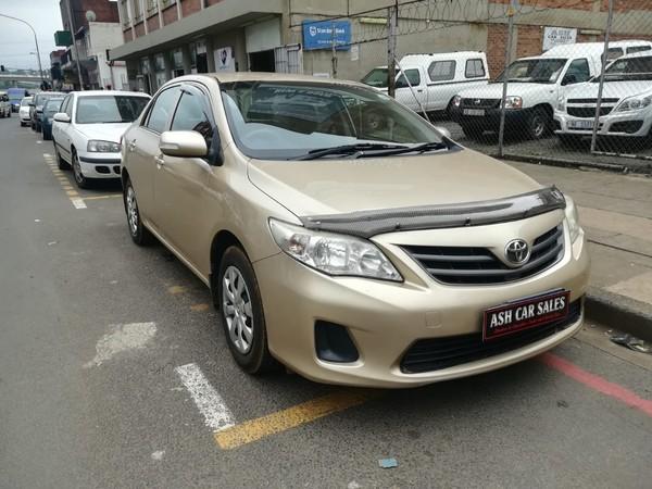 2012 Toyota Corolla 1.3 Professional  Kwazulu Natal Pietermaritzburg_0