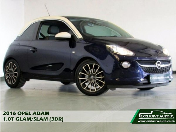 2016 Opel Adam 1.0T GLAM 3-Door Gauteng Pretoria_0