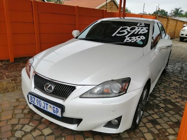 2012 Lexus IS 350 EX Gauteng Boksburg_0