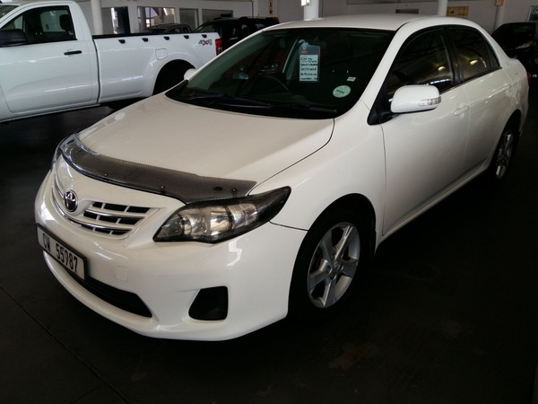 2011 Toyota Corolla 1.6 Advanced At  Western Cape Worcester_0