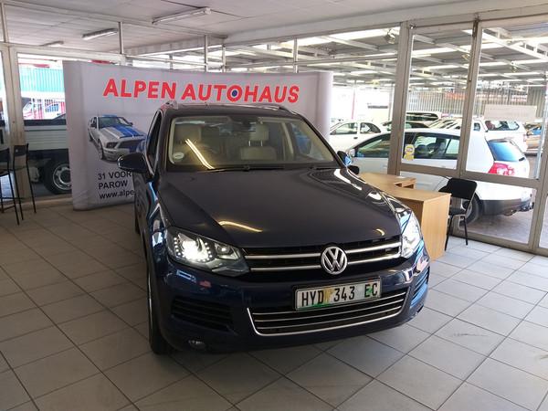 2012 Volkswagen Touareg 3.0 V6 Tdi Tip Blu Mot 180kw  Western Cape Parow_0