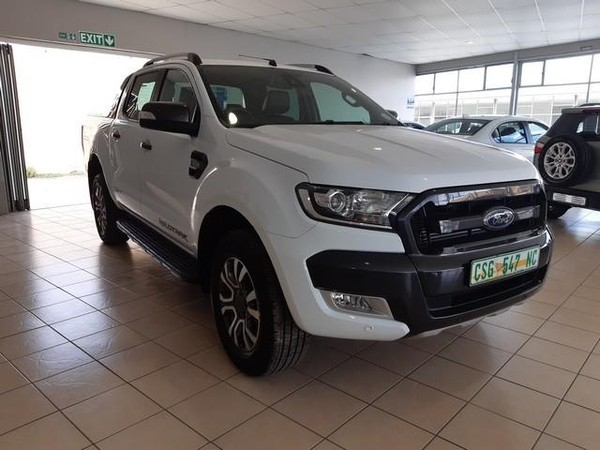 2018 Ford Ranger 3.2TDCi WILDTRAK Auto Double Cab Bakkie Northern Cape Kimberley_0