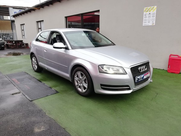 2012 Audi A3 1.4 Tfsi Attraction  Gauteng Boksburg_0