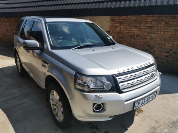 2013 Land Rover Freelander Ii 2.2 Sd4 Se At  Gauteng Kempton Park_0