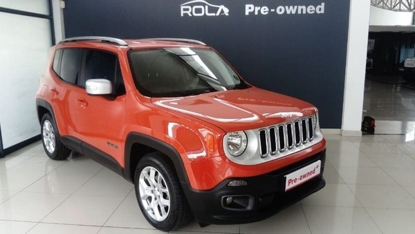 2017 Jeep Renegade 1.6 MJET LTD Western Cape Somerset West_0