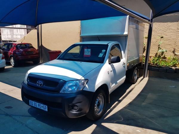 2011 Toyota Hilux 2.0 Vvti Pu Sc  Gauteng Johannesburg_0