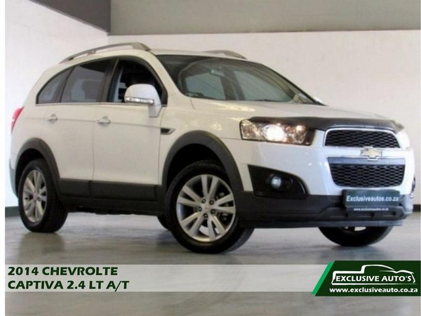 2014 Chevrolet Captiva 2.4 Lt At  Gauteng Pretoria_0