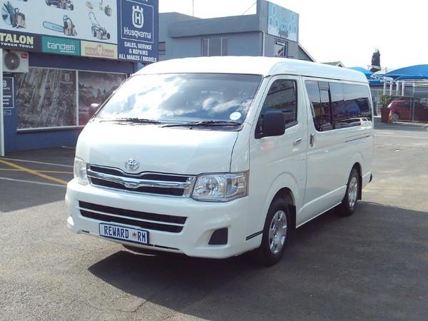 2013 Toyota Quantum 2.5 D-4d 10 Seat  Gauteng Boksburg_0