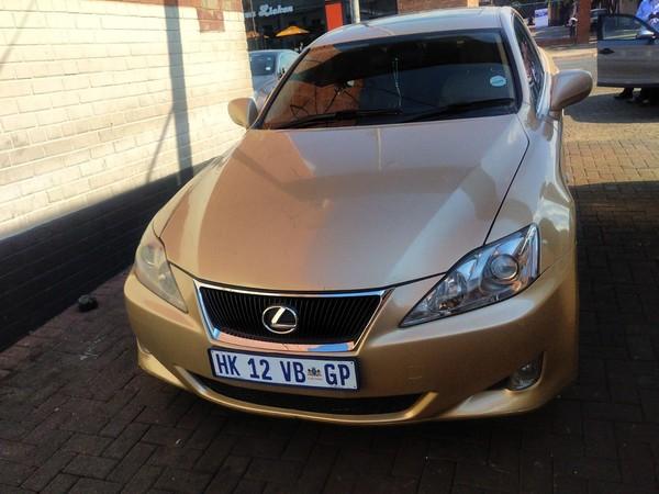 2009 Lexus IS 250 At  Gauteng Pretoria_0