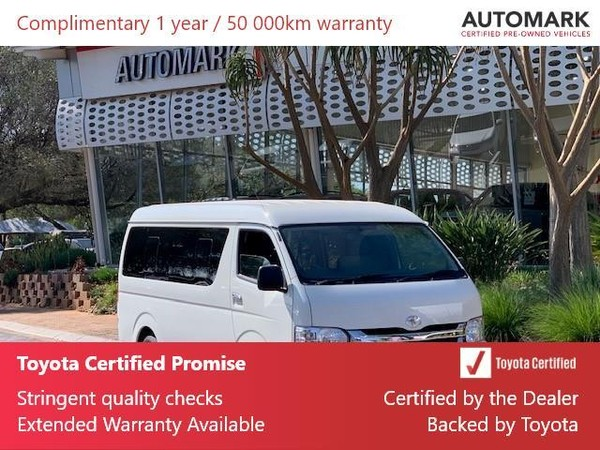 2019 Toyota Quantum 2.5 D-4d 10 Seat  Gauteng North Riding_0