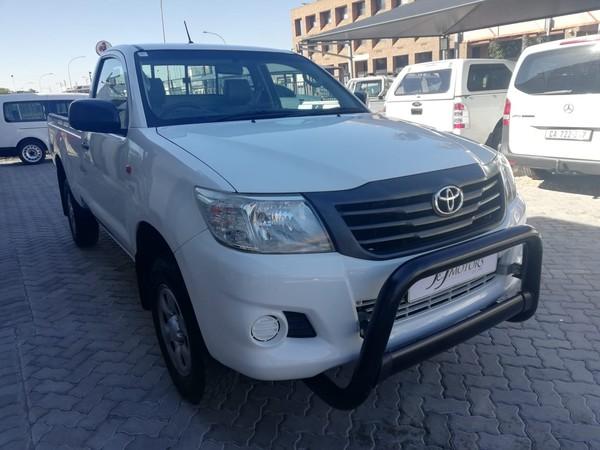 2011 Toyota Hilux 2.5 D-4d Srx Rb Pu Sc  Western Cape Kuils River_0