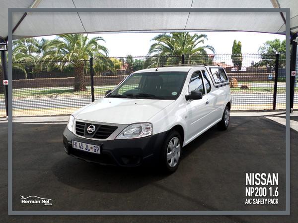 2016 Nissan NP200 1.6  Ac Safety Pack Pu Sc  Gauteng Roodepoort_0