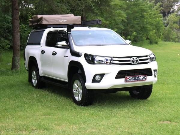 2017 Toyota Hilux 2.8 GD-6 Raider 4X4 Double Cab Bakkie Auto Gauteng Sandton_0