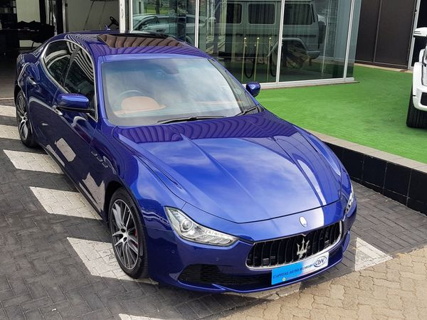 2016 Maserati Ghibli Diesel Gauteng Midrand_0