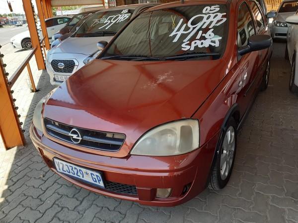 2005 Opel Corsa 1.6 Sport  Gauteng Boksburg_0