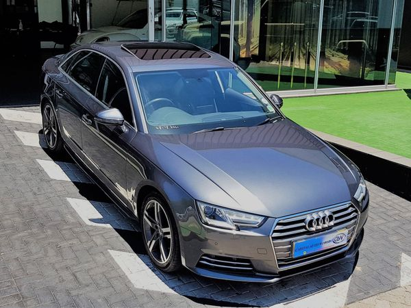 2017 Audi A4 1.4T FSI S Tronic Gauteng Midrand_0