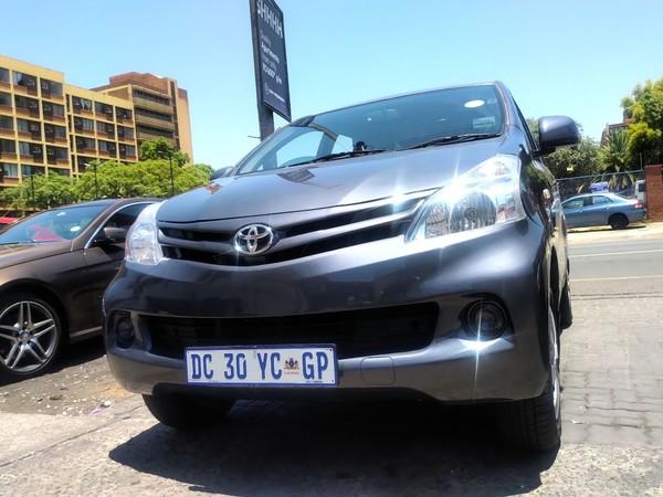2015 Toyota Avanza 7seaters Gauteng Pretoria_0