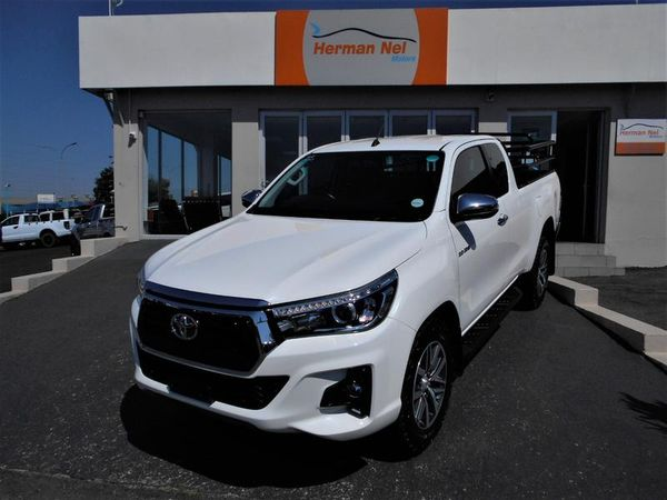 2018 Toyota Hilux 2.8 GD-6 RB Raider 4x4 Extra Cab Bakkie Auto Gauteng Roodepoort_0