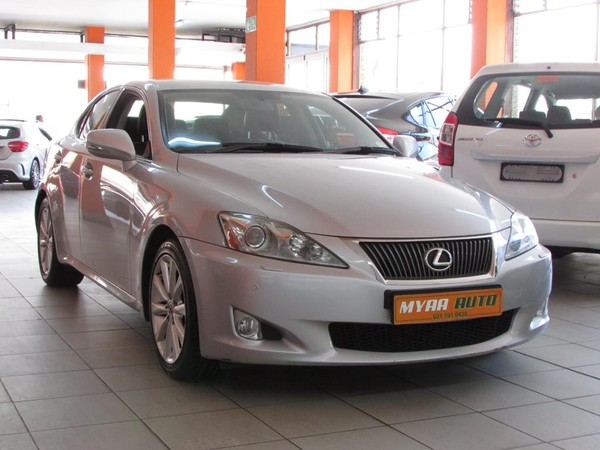 2009 Lexus IS 250 Ex At  Western Cape Cape Town_0